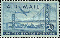 [New Airmail Stamps, type U]