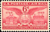 [The 200th Anniversary of Alexandria, Virginia, type W]