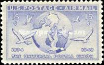 [Universal Postal Union Issue, type Y]