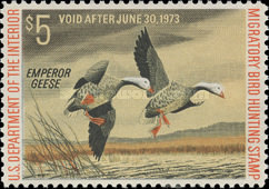 [Department of the Interior Duck Stamps - Emperor Geese, Typ AH]