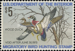 [Department of the Interior Duck Stamps - Wood Ducks, Typ AJ]