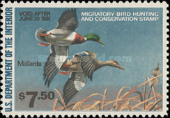 [Department of the Interior Duck Stamps - Mallards, Typ AP]