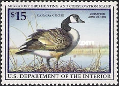 [Department of the Interior Duck Stamps - Canada Goose, Typ BG]