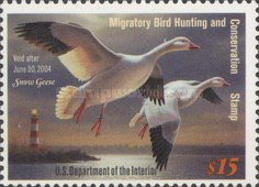 [Department of the Interior Duck Stamps - Snow Geese, Typ BM]