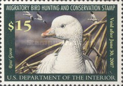 [Department of the Interior Duck Stamps - Ross' Goose, type BP]