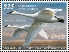 [Department of the Interior - Trumpeter Swans, Typ BZ]