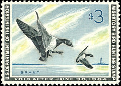 [Department of the Interior Duck Stamps - Brent Geese, Typ Y]
