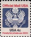 [Penalty Mail Stamps, Typ A1]