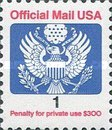 [Penalty Mail Stamp, Typ A15]