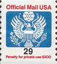 [Penalty Mail Stamps - Coil Stamp, Typ A19]