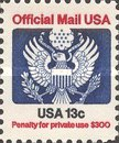 [Penalty Mail Stamps, Typ A2]