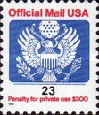 [Penalty Mail Stamps, Typ A26]