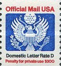 [Penalty Mail Stamps - Coil Stamp, Typ A8]