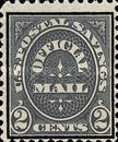 [Official Postal Savings Issue, Typ A2]