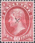 [Executive Department Issue, type B4]