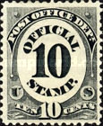 [Post Office Department Issue, type F4]