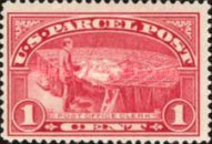 [Parcel Post Stamps, Typ A]