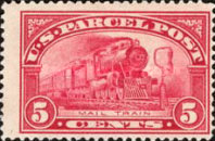 [Parcel Post Stamps, Typ E]