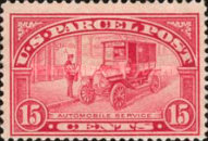 [Parcel Post Stamps, Typ G]