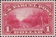[Parcel Post stamps, Typ L]