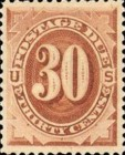[Numeral Stamps, Typ A10]