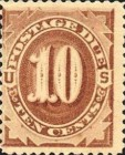 [Numeral Stamps, Typ A8]