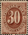 [Numeral Stamps, Typ B5]