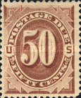 [Numeral Stamps, Typ B6]
