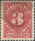 [Numeral Stamps - Watermark 1, Typ D13]