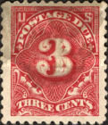 [Numeral Stamps - Watermark 2, Typ D22]