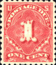 [Numeral Stamps, Typ D27]