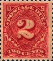 [Numeral Stamps, Typ D37]