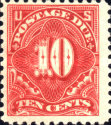 [Numeral Stamps, Typ D40]