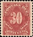 [Numeral Stamps, Typ D41]