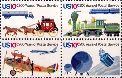 [The 200th Anniversary of Postal Service, Typ ]