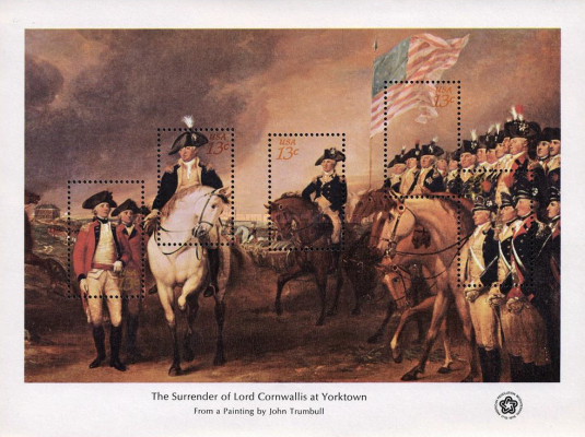 [The Surrender of Lord Cornwallis at Yorktown - By John Trumbull, 1756-1843, Typ ]