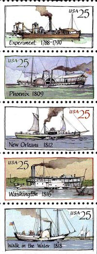 [Steamboats Booklet Issue, Typ ]