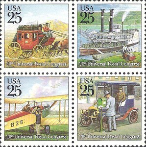 [The 20th Universal Postal Congress - Traditional Mail Delivery, Typ ]