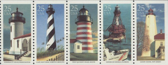 [Lighthouses Booklet Issue, type ]