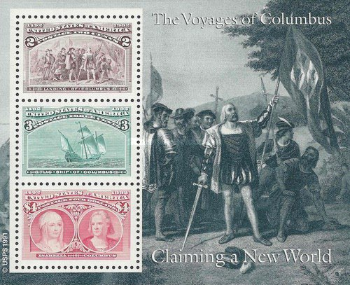 [First Voyage of Christopher Columbus - Claming a New World, type ]