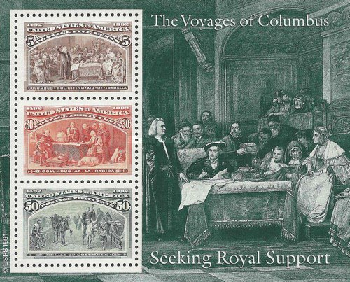 [First Voyage of Christopher Columbus - Seeking Royal Support, type ]