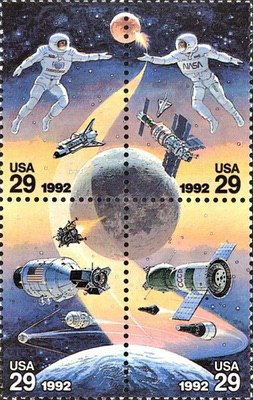 [Space Adventure - Joint Issue with Russia, type ]