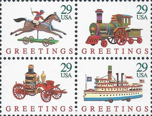 [Christmas Stamps - Toys, type ]
