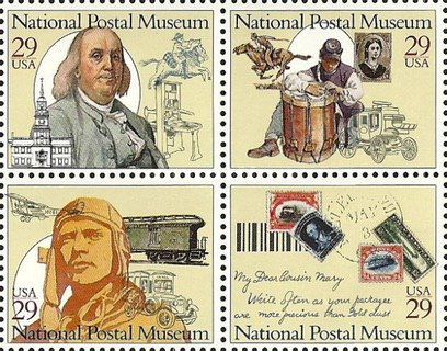 [National Postal Museum, Typ ]