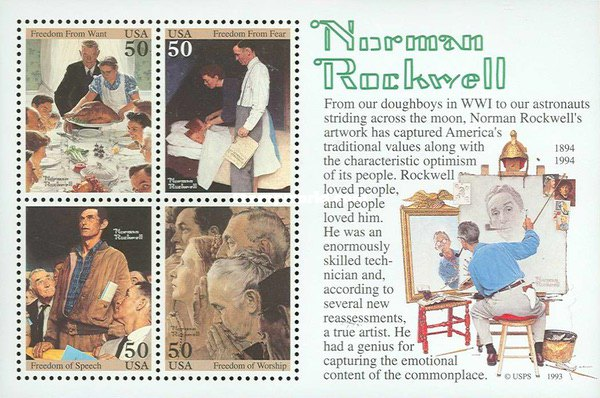 [Norman Rockwell - Four Freedoms, Typ ]