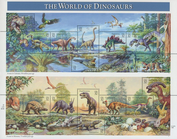 [The World of Dinosaurs, type ]
