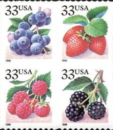 [Fruits - Self-Adhesive Booklet Stamps, type ]