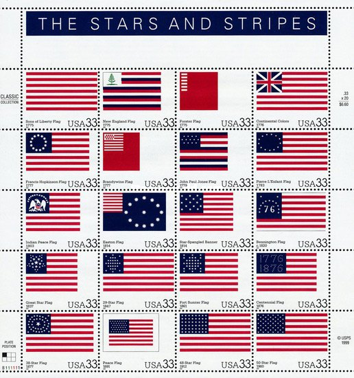 [The Stars and Stripes, Typ ]