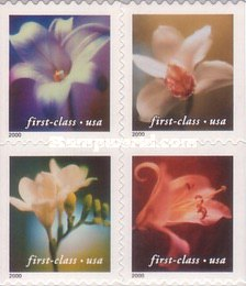 [Flowers - Self-Adhesive Booklet Stamps (34 cents), Typ ]