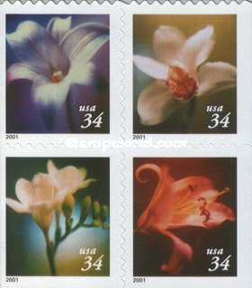 [Flowers - Self-Adhesive Booklet Stamps, Typ ]